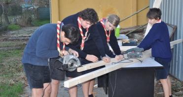 Costruzione dei pannelli in Colinia