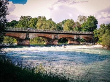 Ponte sul Fiume Oglio tra Soncino ed Orzinuovi (Foto Paola Cominetti)