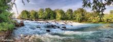 Cascate e prese sul fiume Oglio (Foto Paola Cominetti)